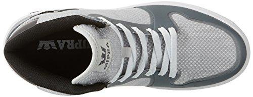 Supra Vaider 2.0, Zapatillas Altas para Hombre Gris (Grey-White)
