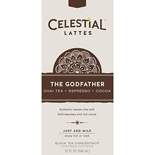 Celestial Seasonings The Godfather Chai Tea Latte Concentrat