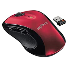 Logitech Wireless Mouse M510 - Red (910-004554)
