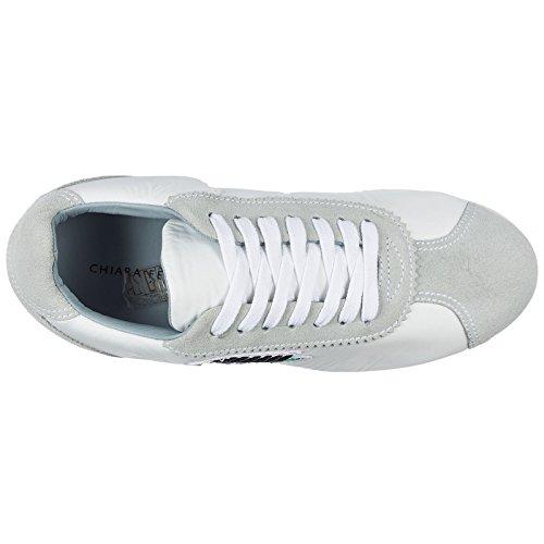 Weiß Sneakers Ferragni Damenschuhe Sneakers Wildleder Chiara apU1wq1