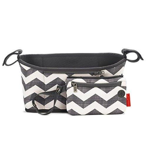 Zooper Stroller Accessories (American Trends Universal Baby Stroller Organizer Cute Portable Storage (FBA) Chevron)