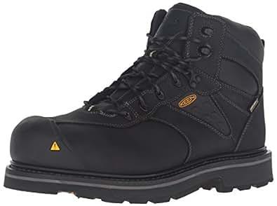 Keen Utility Men's Tacoma WP Work Boot, Black, 7 M US