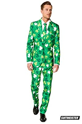 Carrolls Irish Gifts Suitmeister ST. Patrick's Day Clovers Suit