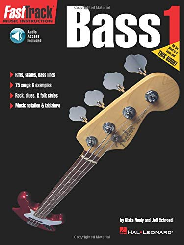 FastTrack Bass Method - Book 1 (Fasttrack Series)