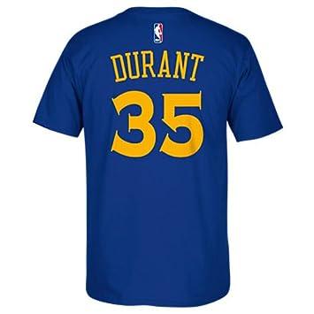 Adidas NBA Golden State Warriors-Kevin Durant # 35-Mesh Logo Camiseta para Hombre: Amazon.es: Deportes y aire libre