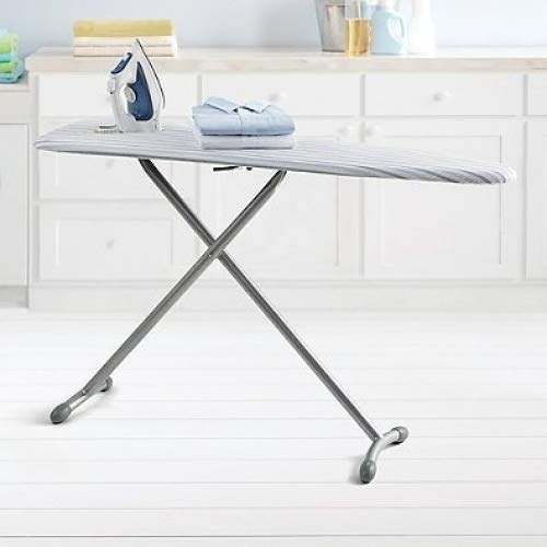 Real Simple Ironing Board Made of Sturdy Steel, 15 W x 54 L, - Quiet Ironing Board