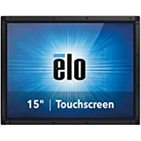 Elo Touch E176751 1590L AccuTouch 15 LCD LED Open-Frame Touch Display, VGA & Display Port Video I/F, USB & RS232 Touch Controller I/F without Power Brick