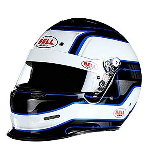 Bell K.1 Pro SA2015 Racing Helmet, White, Size Medium