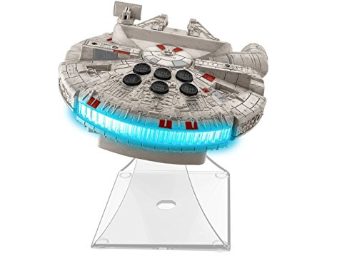 092298924809 - Star Wars-The Force Awakens Millennium Falcon Night Glow Alarm Clock carousel main 1