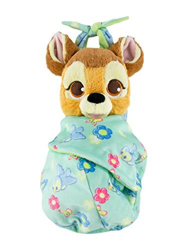 Disney Parks Baby Bambi in a Blanket Pouch