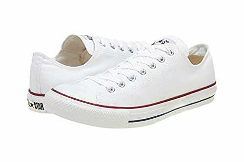 Converse Unisex – Adulto All Star Ox scarpe sportive bianco Size: 4 F(M) UK / 6 B(M) US Women / 4 D(M) US Men