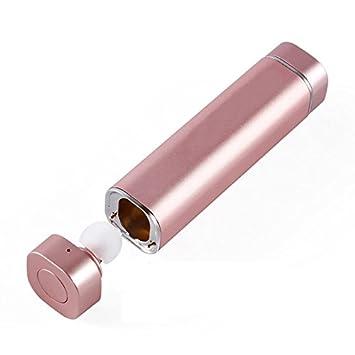 Mini Auriculares Inalámbrico,MindKoo Estilo de Lápiz Labial Cascos Bluetooth 4.1 HIFI Estéreo Auriculares Manos