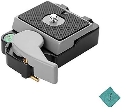 Tripods Monopods Xllcrh Macro Focusing Rail Slider Close-up Shooting Tripod Head Quick Release Plate Holder