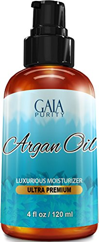 VIRGIN Argan Oil - Large 4oz - Moroccan Variety, Best All Na