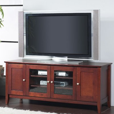 Alpine Furniture Costa 58 in. TV Console - Cherry by Alpine Furniture