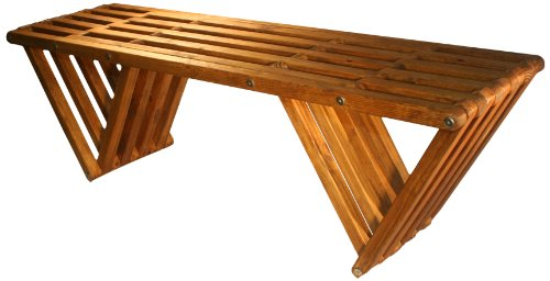 Bench X60, Light Brown