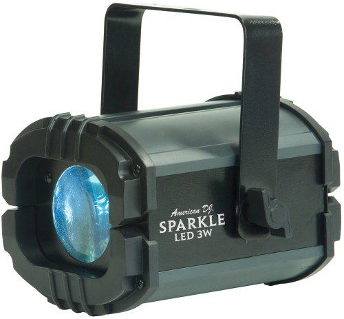 UPC 640282049665, American Dj Sparkle LED 3W Slow Rotating White Led Moonflower Light