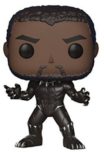 Funko Pop! Marvel: Black Panther Movie - Black Panther  Coll