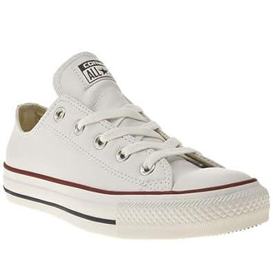 White Leather Converse: Amazon.co.uk