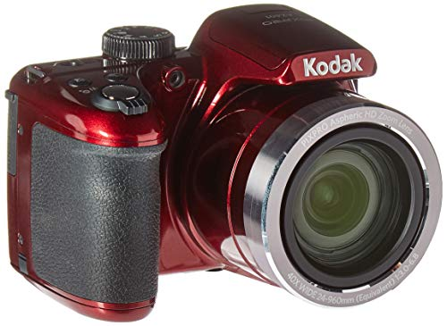 Kodak AZ401RD Point & Shoot Digital Camera with 3″ LCD, Red