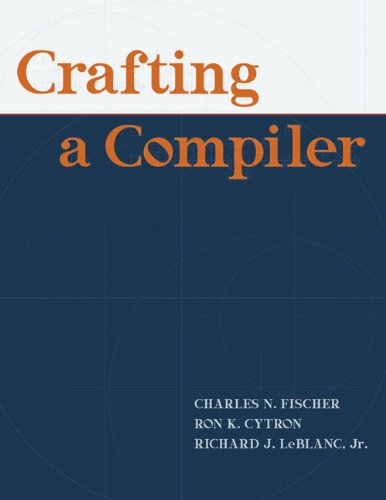 Crafting A Compiler by Pearson