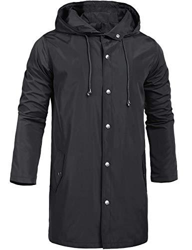 ZEGOLO Men's Raincoats Waterproof