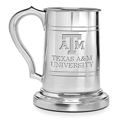 Texas A&M Pewter Stein by M. LaHart