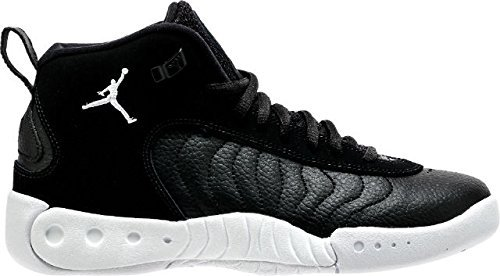 Nike JORDAN JUMPMAN PRO BG boys basketball-shoes 907973-022_3.5Y - BLACK/WHITE-WOLF GREY by NIKE