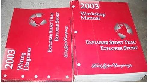 2003 ford explorer sport trac service shop manual set (service 2003 Ford Windstar Wiring Diagram 2003 ford explorer sport trac service shop manual set (service manual, and the wiring diagrams manual ) ford amazon com books