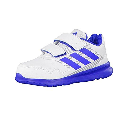 adidas Performance , Chaussures spécial sport en salle pour fille ftwr white/blue/mid grey s14 19 EU