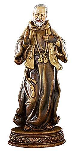 Woodington's Avalon Gallery Saint Padre Pio 6 Inch Statue