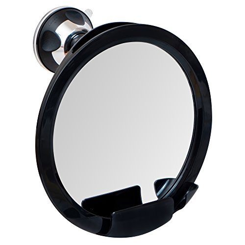 2018 Shatterproof Fogless Shower Mirror For Shaving with Razor Holder and Superior Sticky Suction-Cup, 8