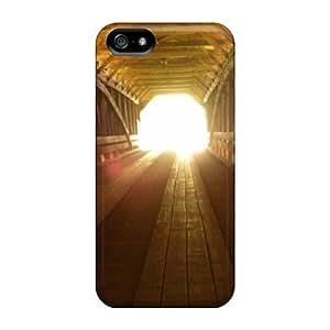 Durable Defender Case For Iphone 5/5s Tpu Cover(meem's Bottom Covered Bridge Va)