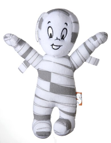 Mummy Casper (Casper the Friendly Ghost 9-Inch Mummy Halloween Plush Dog Toy)
