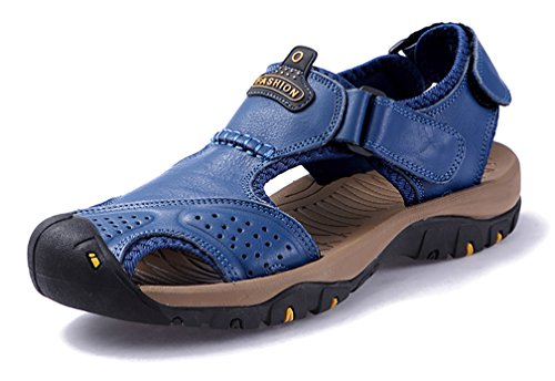Zeppa 39 EU YVWTUC Uomo Blue Sandali con Blu 5 qcFFwEYH