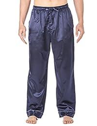 Noble Mount Mens Premium Satin Sleep/Lounge Pants