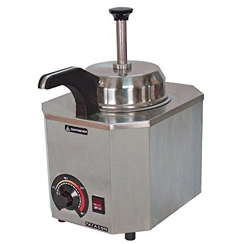 Dispensador de bomba con boquilla caliente JM Posner directamente en tarros de acero. Interruptor de encendido / apagado.: Amazon.es: Hogar