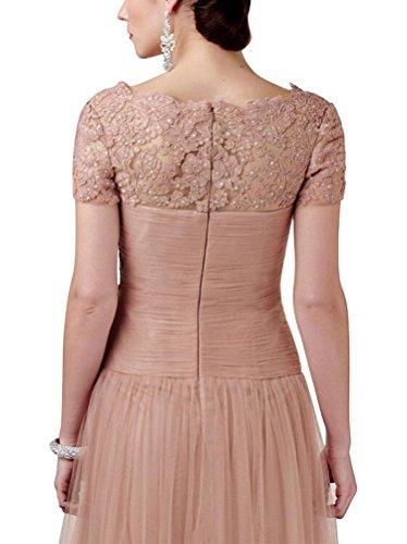 3674082e7c3 ... Tuell A-linie Abendkleider Lisa Der Party Braut Mutter Ballkleid Langes  Damen Kleid Spitzen Vickyben ...