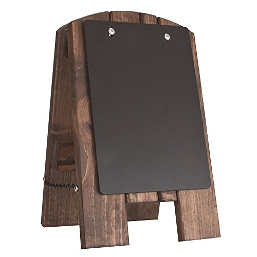 Risch Wood Counter Easel With Removable Chalk Panel - 9 1/2 L x 3 1/2 W x 13 1/2 H ()