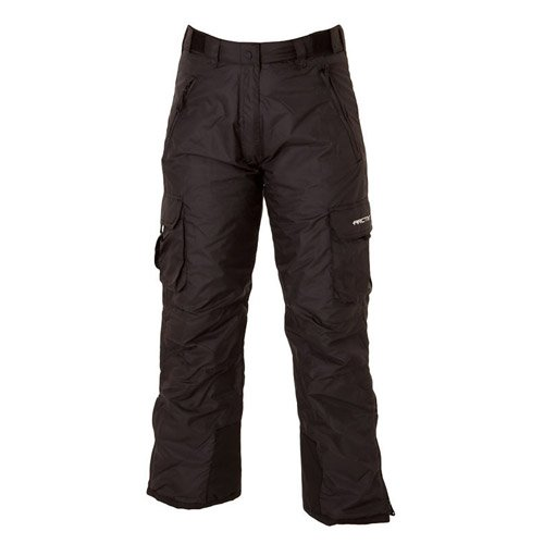 Arctix 1830-00-XS Women's Snowsport Cargo Pants, X-Small, Black -