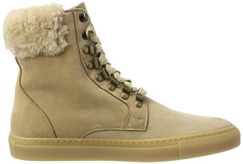 Camel Beige para Escada As404 Light Botas Mujer YqFSx6R