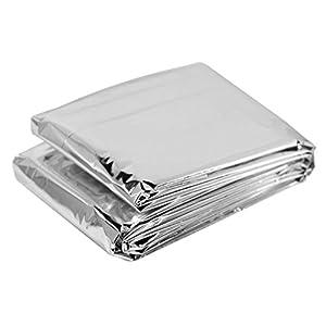 """10 Piece Box of Emergency Blankets, 84"""" X 52"""""""