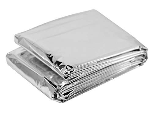 "10 Piece Box of Emergency Blankets, 84"" X 52"""