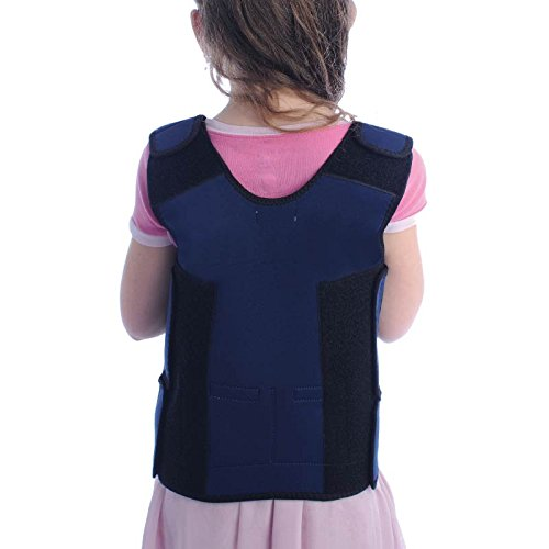 Fun and Function's Blue Weighted Compression Vest by Fun and Function