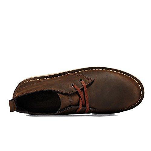 ICEGREY Herren Desert Boots Kurzschaft Stiefel & Stiefeletten Braun EU 39