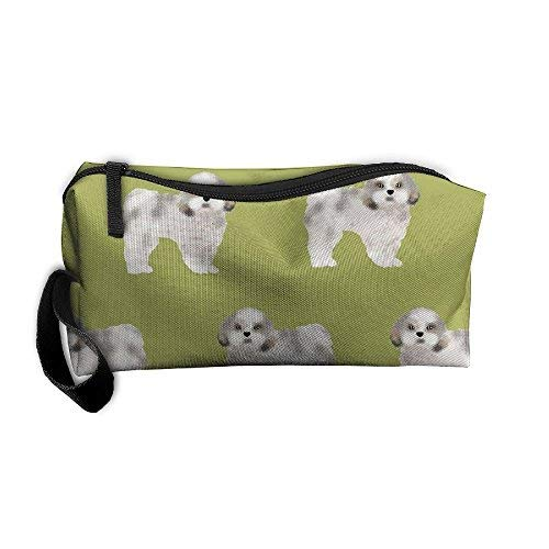 Dressing Case Travel Shih Tzu(2) Cosmetic Bags With Makeup Artist Case Multi Functional Makeup Handbag For Travel & Home Gift ()