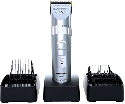 Panasonic ER1511 Cordless Professional Hair Clipper + 6 Combs (MADE IN JAPAN) by Panasonic