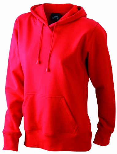 Felpa Hooded Rosso James Red Sweatshirt Donna amp; Nicholson q7SvxtwIA