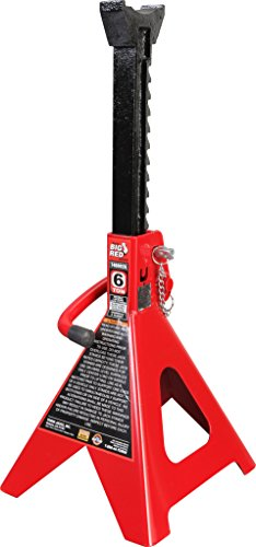 Torin Big Red Steel Jack Stands: Double Locking, 6 Ton Capacity, 1 Pair by Torin (Image #2)