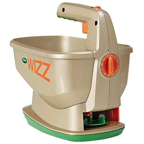 Scotts 71131 Wizz Hand Held Spreader with 23-Spreader Settings (Settings Edgeguard Scotts)
